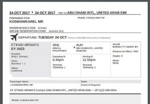 visa-extension-requirements-fake-plane-ticket