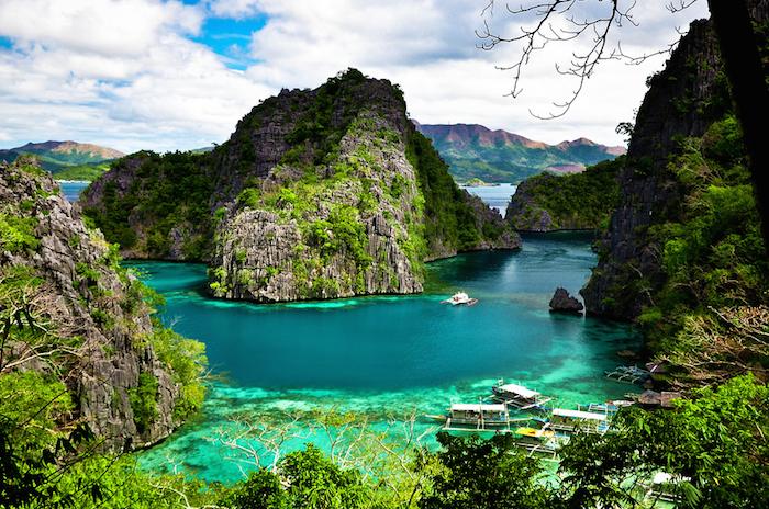 Isla de Corón, Palawan, Filipinas