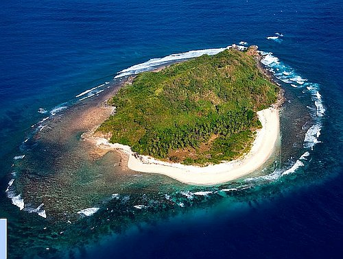 Camp out on deserted island