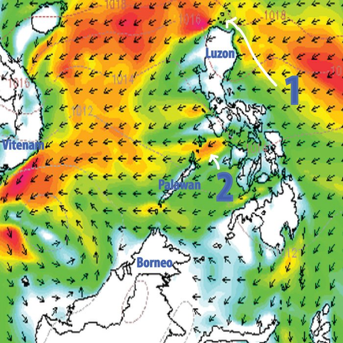Wind Map Philippines wind map philippines | Island Hopping in the Philippines   Palawan