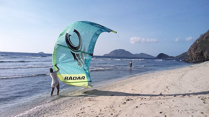 kiteboarding-in-linapacan