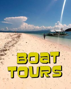 Boat tours Palawan Philippines