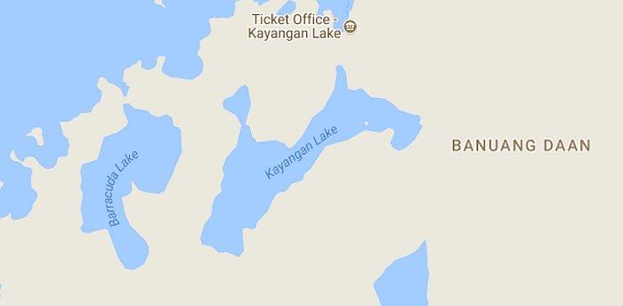 Kayangan-lake-map
