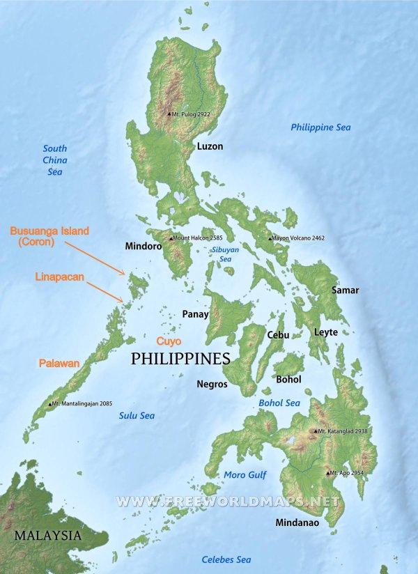 motorbike map philippines