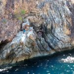 Spanish fortress and cliff diving in Linapacan