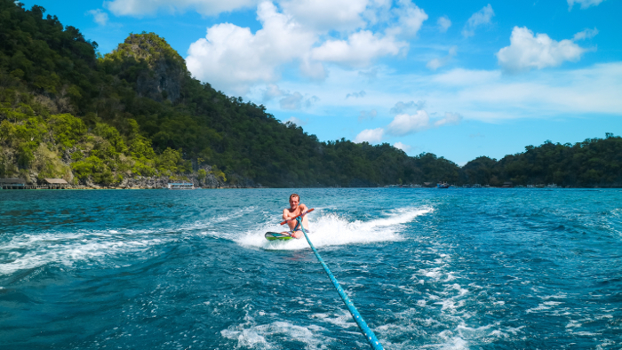 Rent our wakeboard on Combination El Nido Tour plus Multiday Tour to Coron.