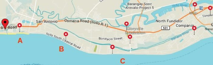 iloilo-city-map-west-padi-beach-resort