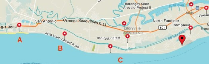 iloilo-city-map-west-paraw-resort