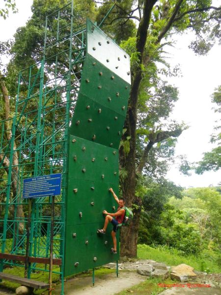 iloilo-city-to-bacolod-mambukal-resort-waterfalls-climbing-wall